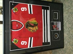 Signed Bobby Hull Blackhawks Jersey, Don Cherry Jacket Strathcona County Edmonton Area image 3