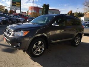 2010 Toyota RAV4 Sport/METICULOUS SERVICE HISTORY/PRICED FOR A Q Kitchener / Waterloo Kitchener Area image 3