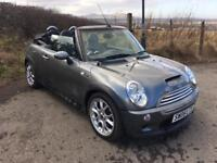 2005 MINI COOPER 'S' CONVERTIBLE ONLY 67,000 MILES! FULL SERVICE HISTORY! IMMACULATE CONDITION!