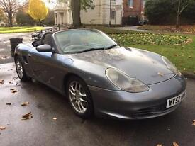 PORSCHE BOXSTER S 3.2 2002 52 REG MANUAL * FULL SERVICE HISTORY 11 STAMPS *