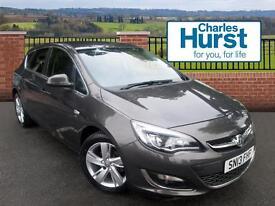 Vauxhall Astra SRI (grey) 2013-05-22