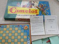 Vintage CAMELOT – Waddington's board game