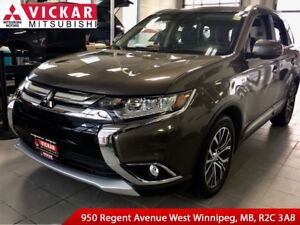 2016 Mitsubishi Outlander GT/ Moon roof/ Forward Collision Mitig