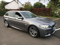 BUY ME FROM LITTLE AS *£249 PCM*BMW 520D M SPORT TOURING ESTATE AUTO 2014 64 REG FSH OVER 6K Extras