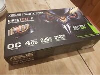 NVIDIA 970 GTX ASUS STRIX OC Edition (like new with receipt 2 of 2).