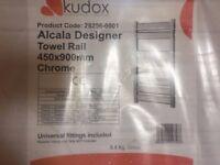 BRAND NEW KUDOX ALCALA DESIGNER HEATED TOWEL RAIL