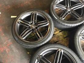 "AUDI 5X112 19"" wheels"