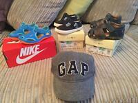 Toddler Boys Branded Summer Shoes & Hat