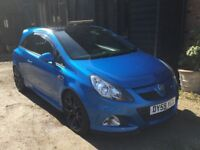 Vauxhall Corsa VXR with FSH and £2000 of factory options