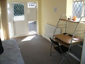 A large Studio with separate cooking and bathroom facilities