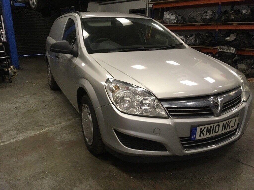 Vauxhall Astra Van 1.7 CDTi 2010 6spd manual FSH