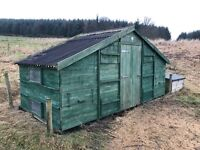 Hen house, chicken coop, Smith Sectional Buildings Haywood 100 hens