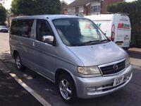 Mazda Bongo 2.5TD FACELIFT DRIVE AWAY AWNING 1 OWNER IN THE UK VGC A/C