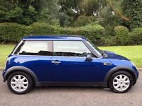 MINI ONE 1.6 2002 MOT 6 MONTHS-ALMOST NEW TYRES-CD PLAYER-AIR CON-ALLOY WHEELS