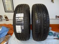 PAIR OF NEW TYRES 195/65 R15