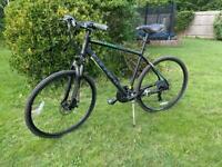 Carerra Crossfire 2 men's hybrid bike 21 inch frame