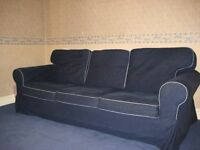 Free Pair of IKEA three seater sofas for immediate sale collection only