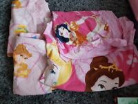 Princess duvet cover and curtains
