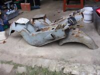 two veloset motor bike bodies for sale