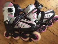 SFR Vortex In Line Girls Skates Size 12-2