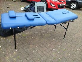 massage/physio plinth/couch hardly used