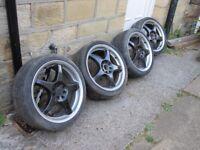 """multi fit alloy wheels 17"""""""