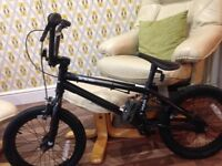 BOYS Cruicual BMX 16 inch wheels paid £300, selling for £100, excellent condition as barley used