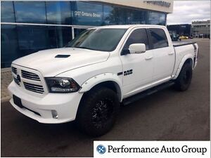 2016 Ram 1500 Sport * Nav * Leather * Sunroof