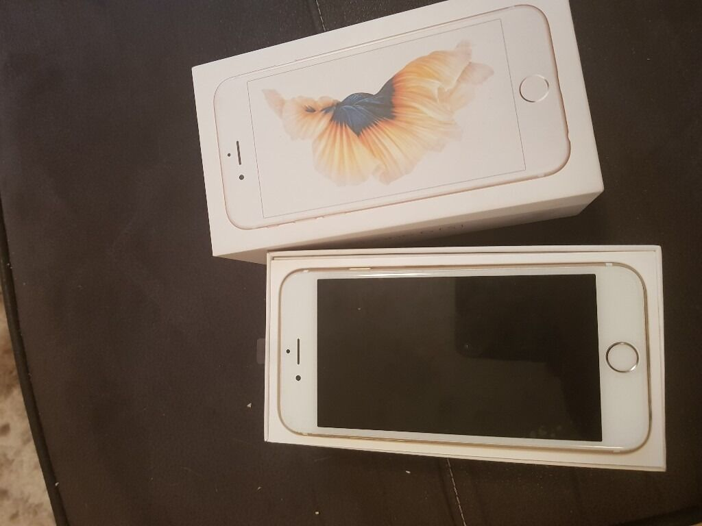 Iphone 6s 64gb gold. 3 networkin Rotherham, South YorkshireGumtree - IPhone 6s 64gb gold. Network 3 .Excellent full working condition. Recent refurb. Charger included box No headphones