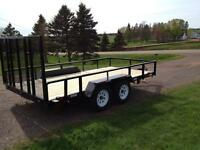 NEW 2014 LANDSCAPING TRAILERS