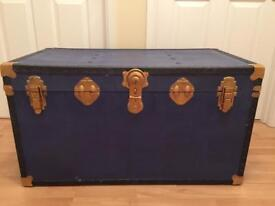 upcycled vintage storage trunk
