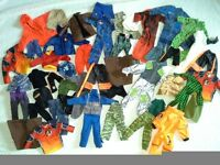 27 Action Men , Clothing and Accessories