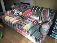 Fabulous Patchwork Style Sofa