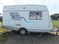 Hymer Nova 390 2 berth touring caravan in excellent condition, many extras and ready to go