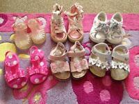 Next girls shoes Bundle toddler uk4
