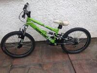 Apollo Xpander full Suspension boy's bike