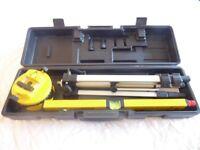 Laser Leveler, asset for all garden designers and surveyors