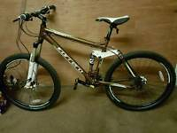 Carrera Banshee X Full Suspension mountain bike mint condition 2015 model