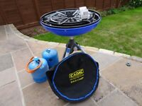 Cadac Eazi Chef Gas Barbeque including 2 Gaz Bottles and Regulator
