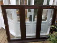 Double Glazed hardwood frame window