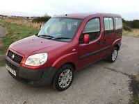 Fiat doblo 1.9 turbo diesel car