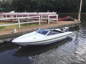 Fletcher 16ft speedboat 40HP Electric start outboard speed boat power boat