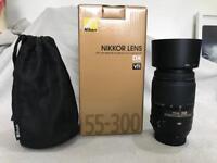Nikon AF-S DX NIKKOR 55-300mm f/4.5-5.6G VR Lens