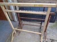 3x adjustable Steel Builders Trestle