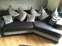 Scs sofa and swivel cuddle chair
