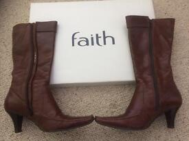 Boots ladies made by Faith size 5 or nearest offer
