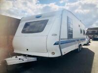 Hobby caravan 700 uk special (2005/06 Model) island bed. Awning. Like tabbert/fendt
