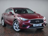 "INFINITI Q30 1.6T SE [18"" Alloys, Bluetooth, Parking Sensors] 5DR (red) 2017"