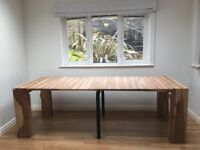 Furniture Village Habufa Extending Table and 6 chairs