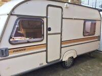 Pioneer caravan